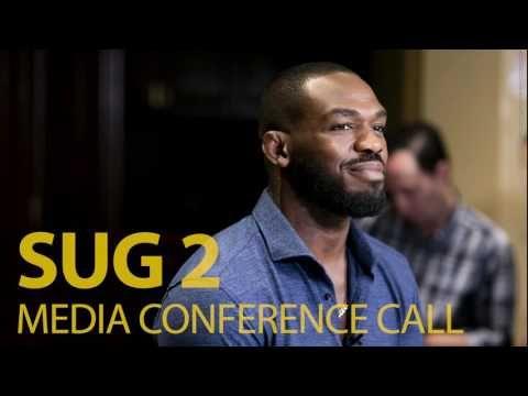MMA SUG 2 Media Conference Call (w/ Jon Jones, Dan Henderson, Chael Sonnen)
