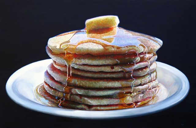 Deliciously Realistic Food Paintings by Mary Ellen Johnson