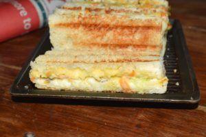 Grilled Coleslaw Sandwich Recipe