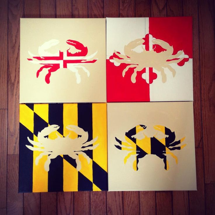 Crabcakes and football. That's what Maryland does.