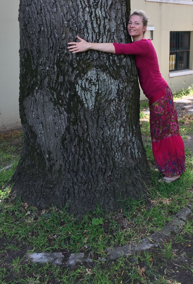 Best feeling to hug a tree on your birthday