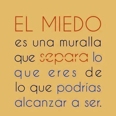 no al miedo ;)