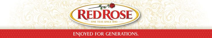 Red Rose Tea Logo - Enjoyed for Generations  Love this tea! Was introduced to it by a friend, Betsy!