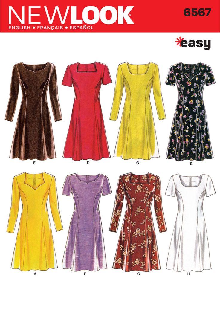 20 best New Look sewing patterns images on Pinterest | Patron de ...