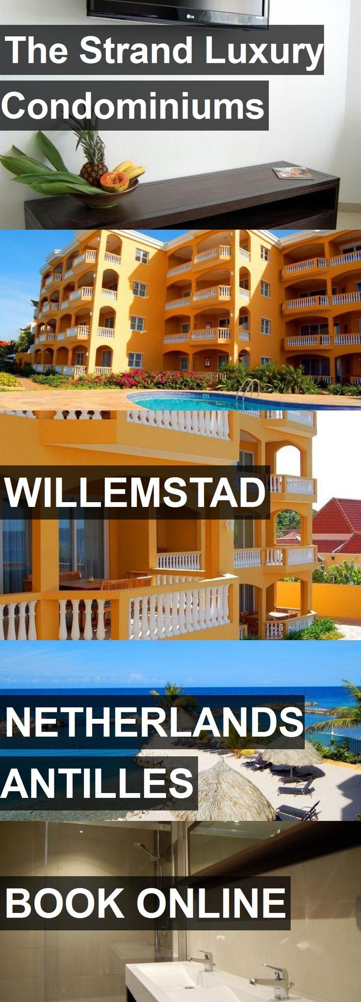 Hotel The Strand Luxury Condominiums in Willemstad, Netherlands Antilles. For more information, photos, reviews and best prices please follow the link. #NetherlandsAntilles #Willemstad #hotel #travel #vacation