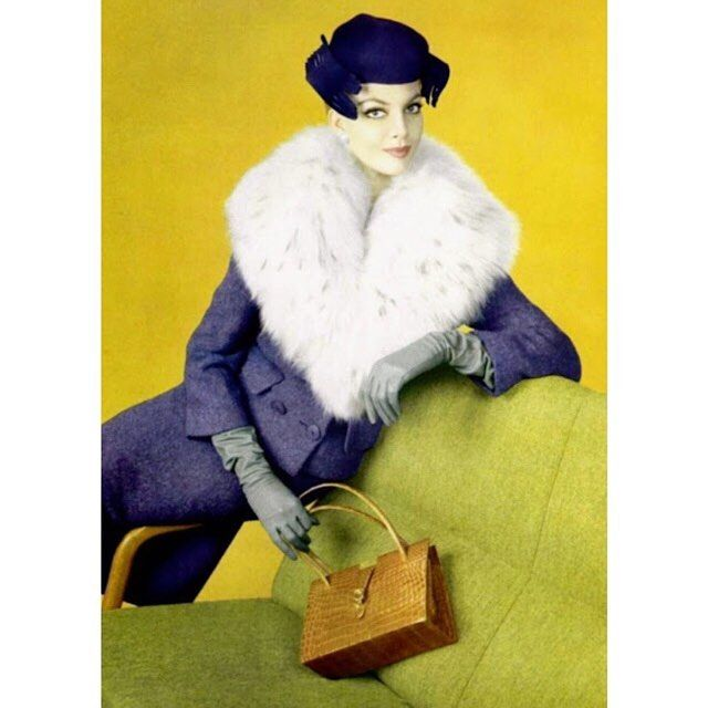Jacques Heim, bag by Lucienne Offenthal, 1959