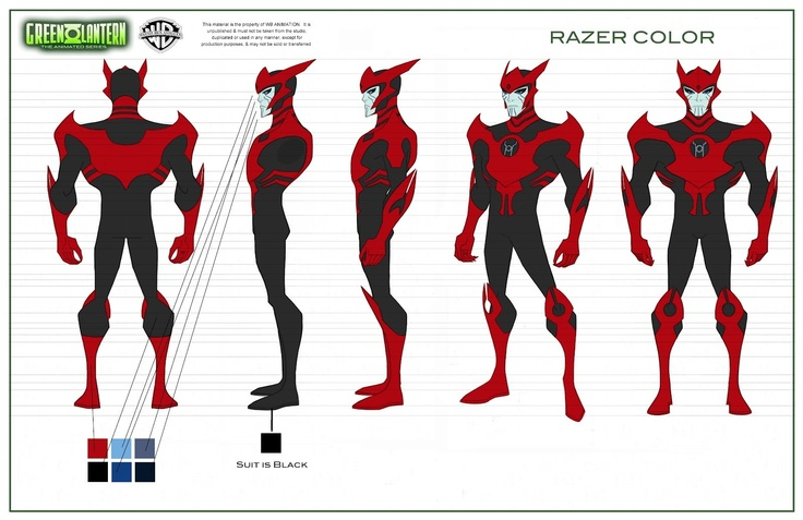 Razer of GLTAS voiced by Jason spisak | Lantern Corps ...