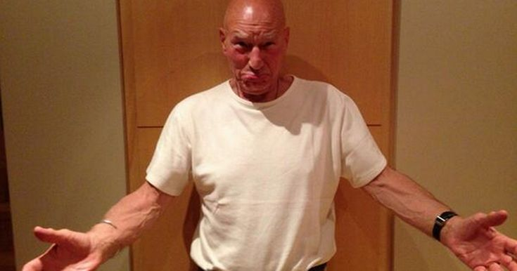 Sir Patrick Stewart asks Twitter for a hug - see comedian Rob Delaney's adorable response