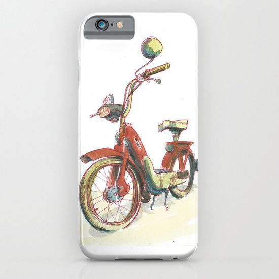 Piaggio iPhone & iPod Case by World Sketching Tour - Luís Simões | Society6