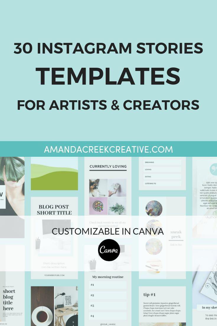 Canva Instagram Stories For Artists Marketing Strategy Social Media Instagram Marketing Tips Instagram Story