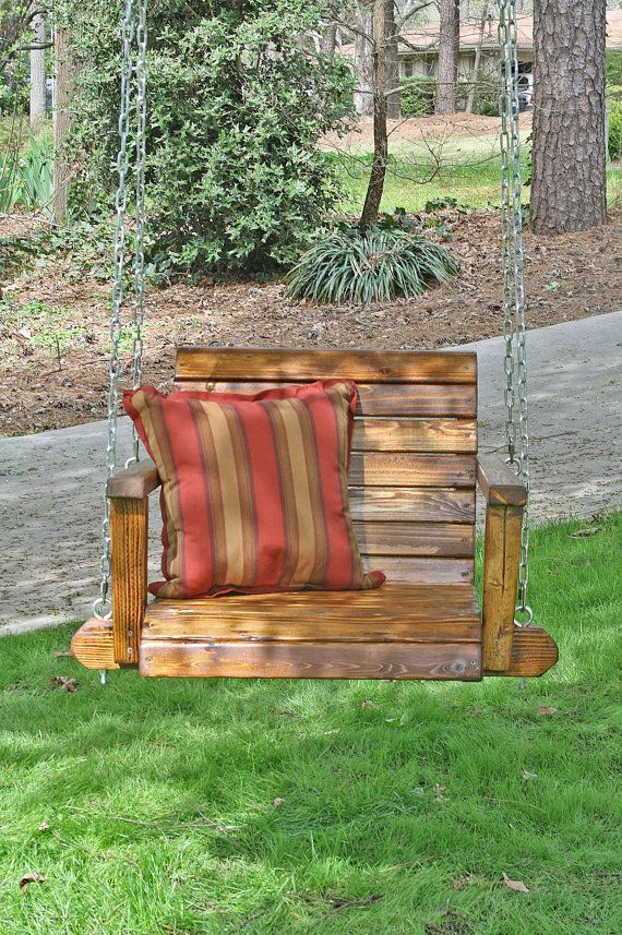 Christopher S Single Seat Garden Or Porch Swing Outdoor And Living Home