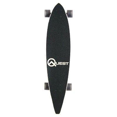 Quest 40 Bamboo Longboard Skateboard,