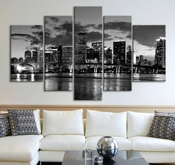Wow Awesome Black And White City Pics Blackandwhitecitypics Large Canvas Wall Art Large Wall Art Wall Art Canvas Prints