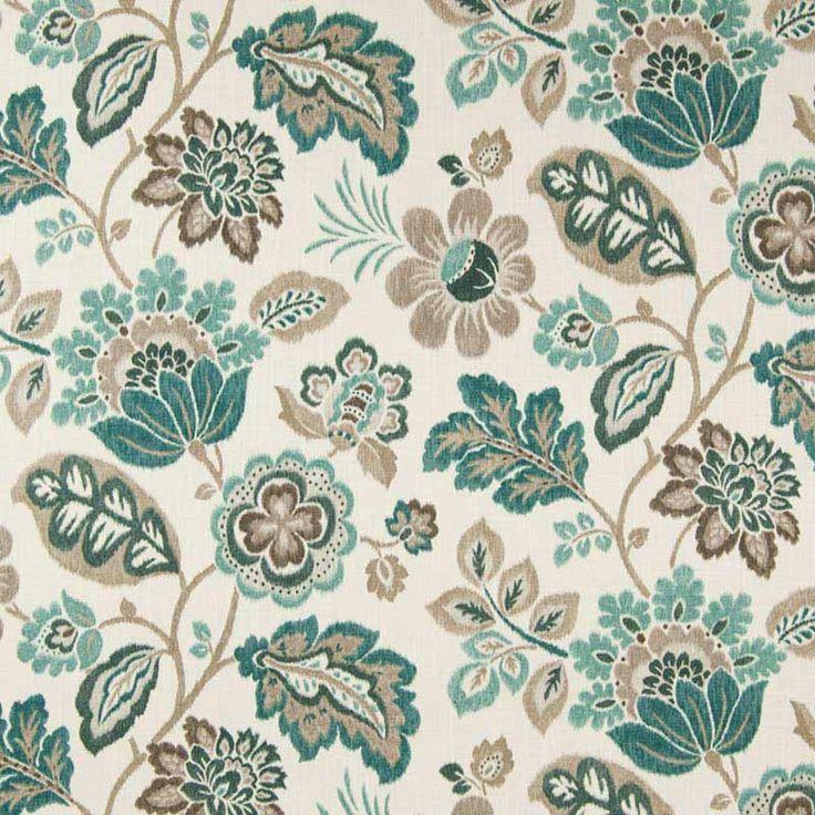 Warwick Fabrics : LUMLEY (red)