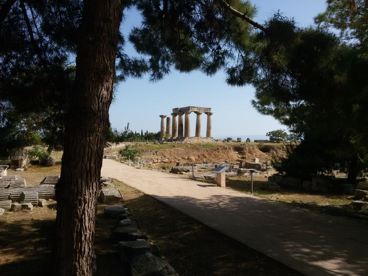 ANCIENT CORINTH - GREECE