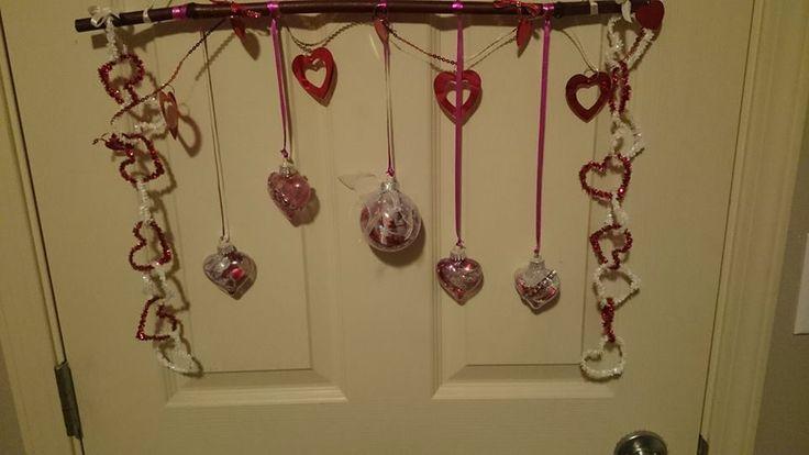 medium window hanger valentines collection