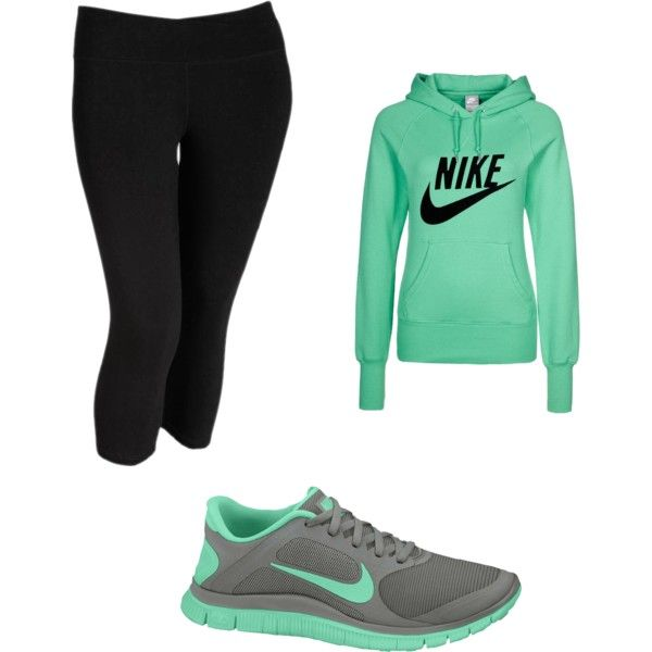 If I were gonna wear workout clothes id pick these. I like the color combo. Visit our online store here