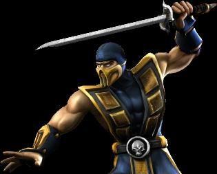 Mortal kombat unchained где взять костюм скорпиона
