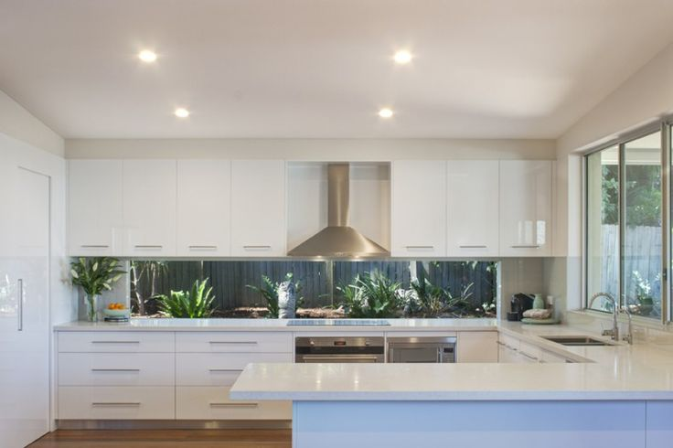kitchen splashback window