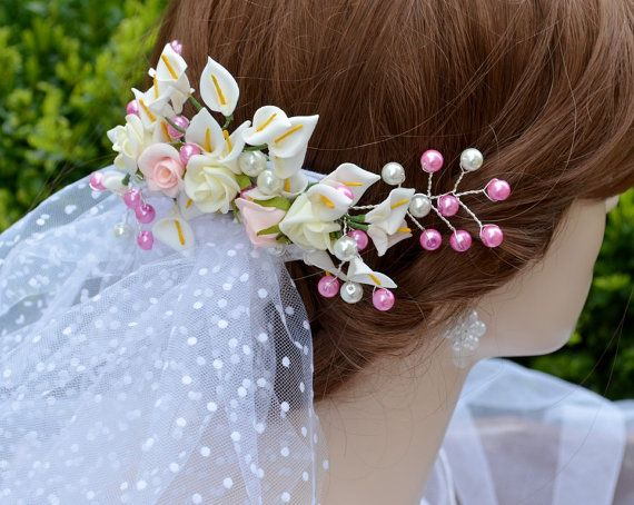 Bridal haircomb by wandadesign on Etsy, €50.00