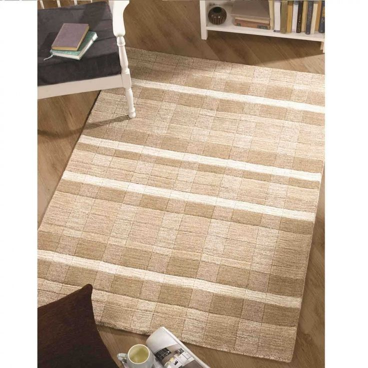 Visiona & Navision Visiona 4311 679 Beige Cream Rug By Flair Rugs This Visiona Soft Rug is fabulously textured in attractive beige Colour. The 100% polypropylene pile is cut in different heights to create a modern design. #geometricrugs #beigerugs #modernrugs #machinemaderugs #durablerugs