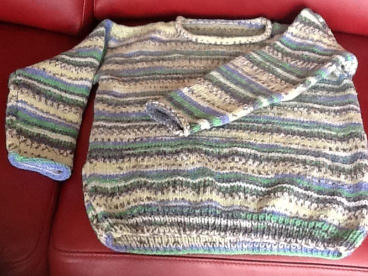 Just finished......fair isle style sweater