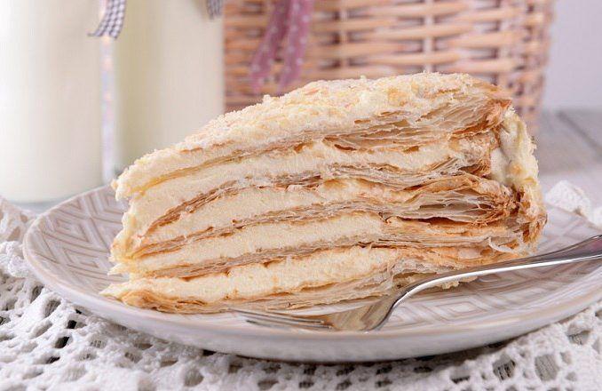 Tvarohovo- krémová torta - Receptik.sk