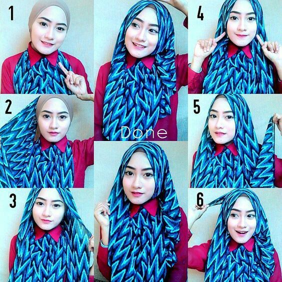 Hijab kantoran