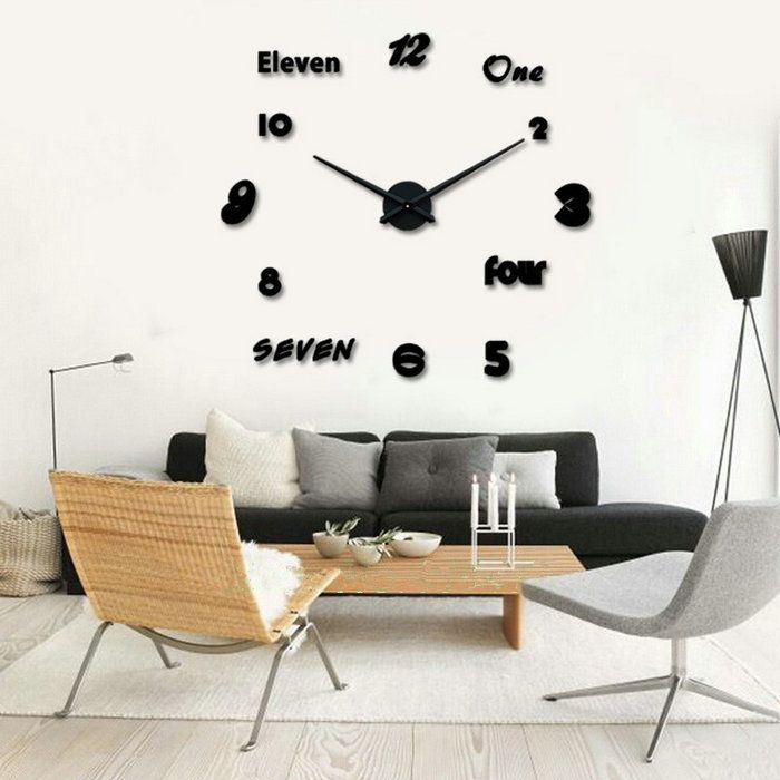 8 best Acrylic Colck Wall Stickers images on Pinterest ...
