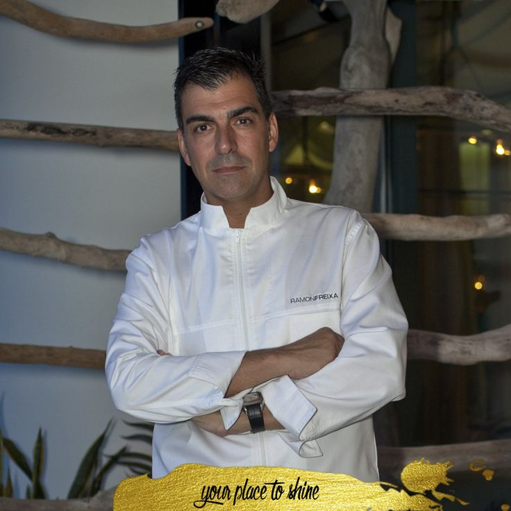 Ramón Freixa, a chef who leave the soul at his cuisine.  www.lasamericasgoldentower.com