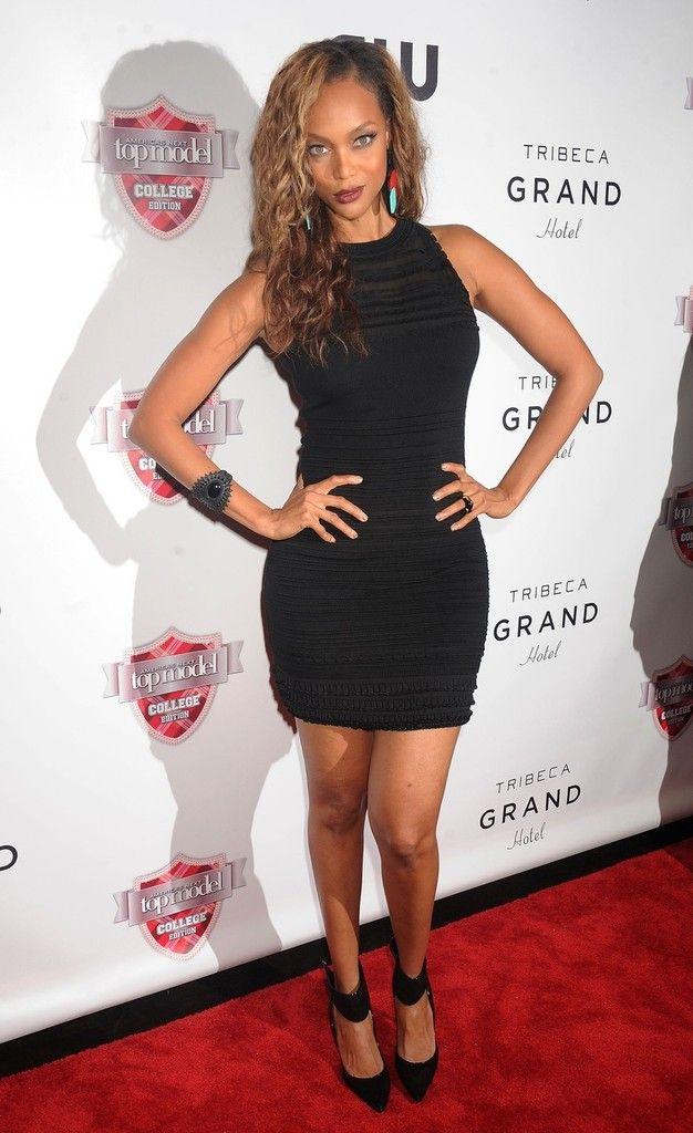 Polished beauty Tyra Banks