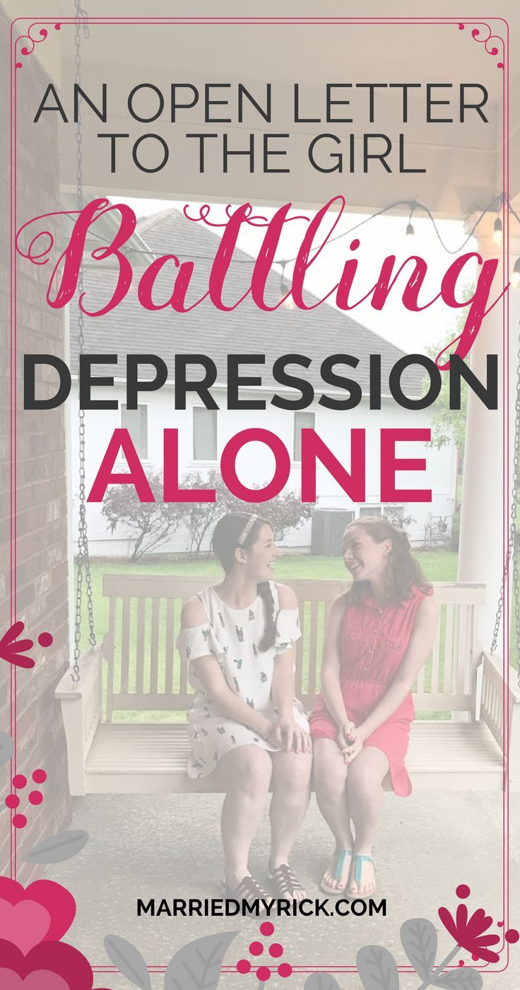 How to beat depression alone