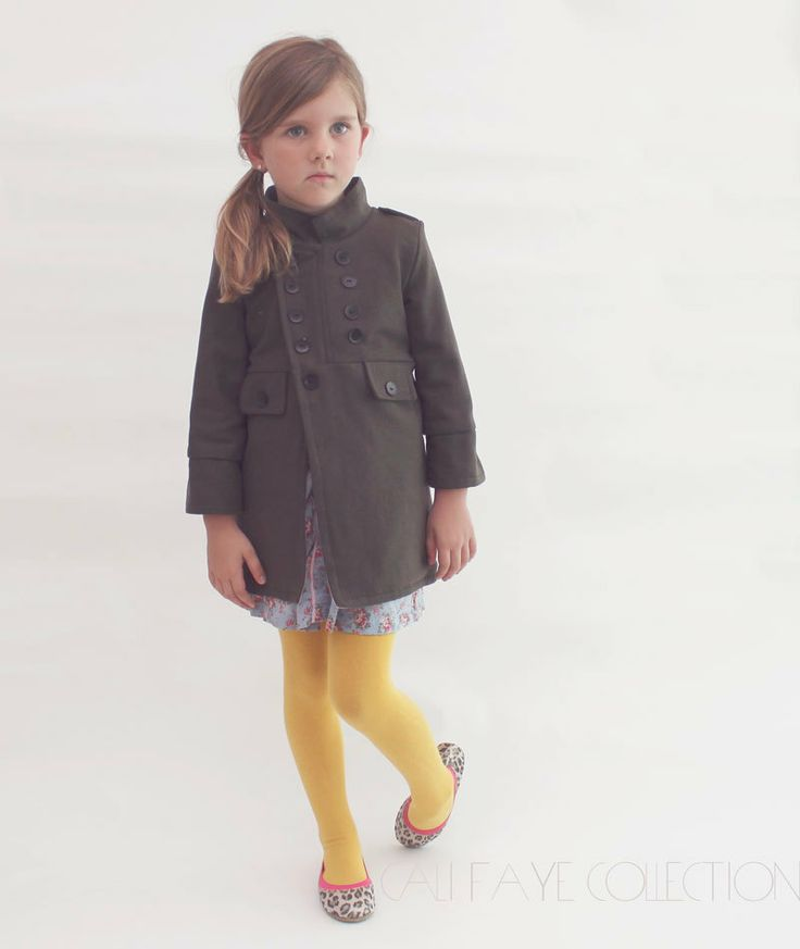 The Cadette Coat PDF pattern and tutorial by ...