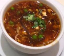 Vegetarian Hot and Sour Soup - Chinese Soup, Indian Style