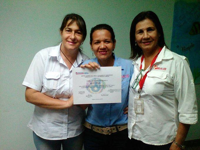 Insalud certificó 19 promotores del parto respetado y humanizado