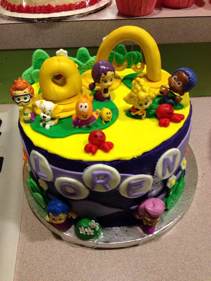 Bubble guppies cake Cake, Bubble guppies cake, Desserts