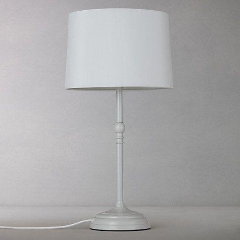 Buy John Lewis Isabel Small Table Lamp, Grey Online at johnlewis.com