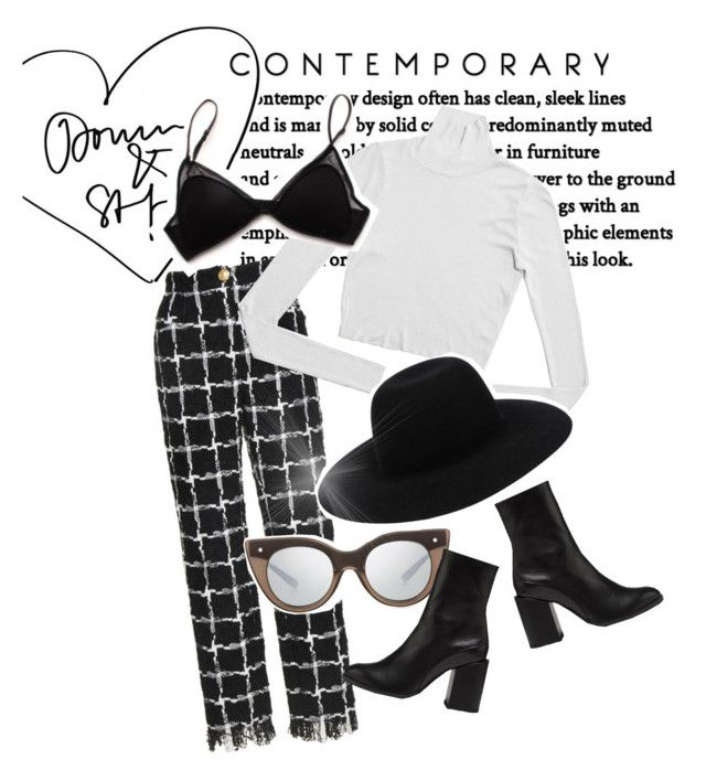 """""""Up With The Birds"""" by sapphire-effect on Polyvore featuring Off-White and Le Specs Luxe"""