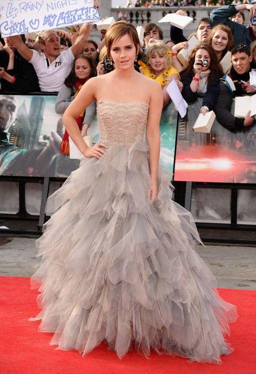 Inspiração para festa de 15 anos: o look de Emma Watson.