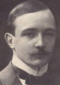 Robert Musil in 1900, 20 years old