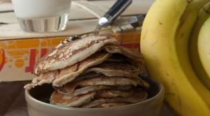 Pancakes μπανάνα