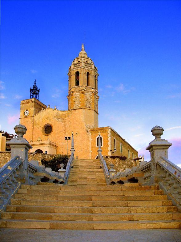 Església de Santa Tecla a Sitges