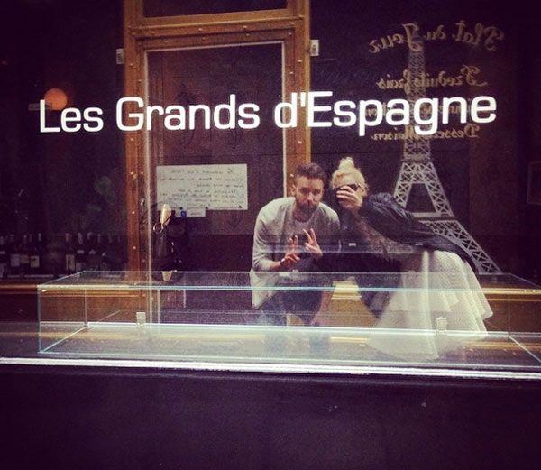 Una luna de miel adelantada en París para Adriana Abenia y Sergio Abad #sociedad