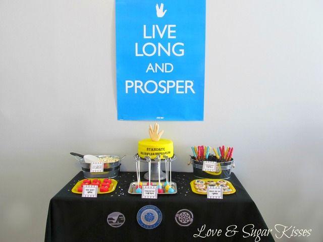 "Photo 1 of 25: Live Long & Prosper / Birthday ""Classic Star Trek Party"""