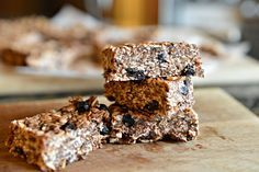 Chewy, crunchy, and full of goodness these homemade bars are better than store…