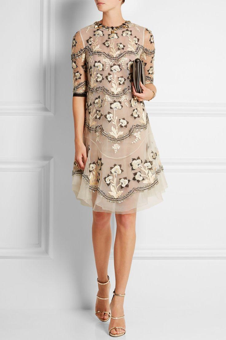 Lolita embellished tulle dress