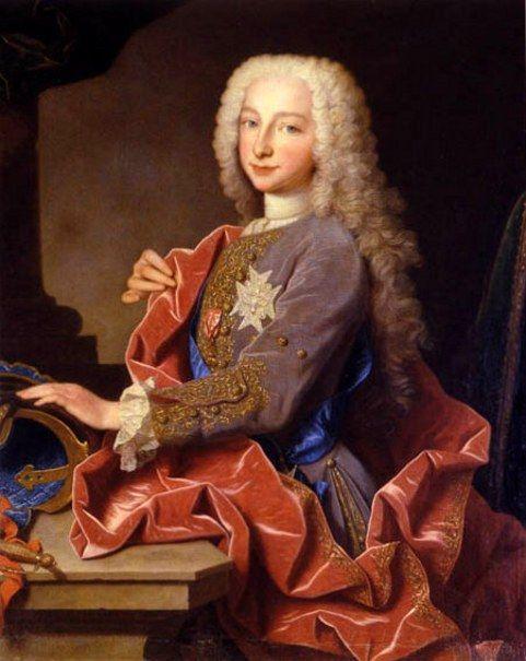 Charles III of Spain (9 Years Old)