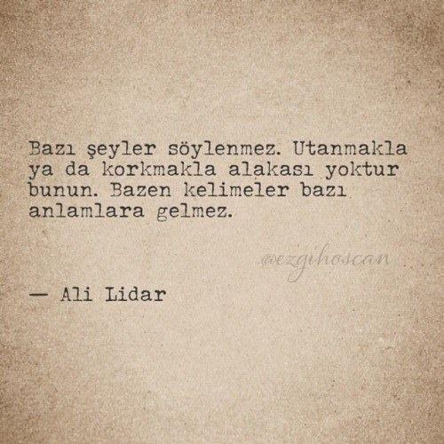 Ali Lidar... bazenler... hergarenk