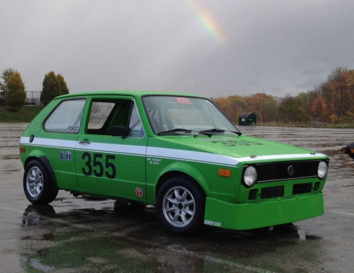 This 1975 Volkswagen Rabbit was converted for race use when new or very shortly after in 1975, with work completed by the owner of an Oregon-based VW performance shop called The Rabbit Hutch. Said to have been very competitive in ICSCC competition on the West Coast until the early 90's, no log