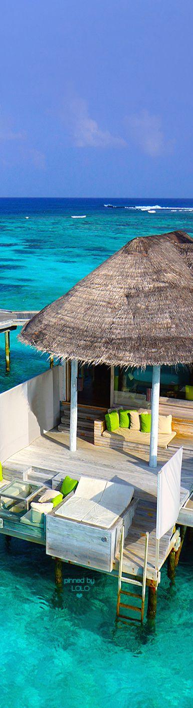 Six Senses Laamu Maldives Water Villas | LOLO❤︎